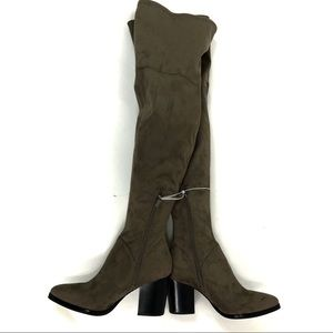 Marc Fisher high boots Gray size 7.5 (top)
